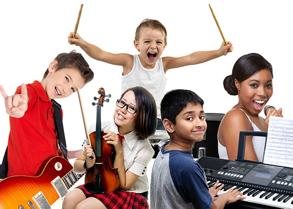 Private Music Lessons for Children in Encino
