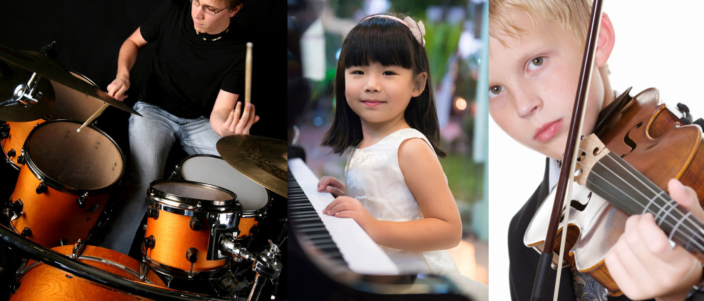 Music School To Go Learn Drums, Piano, Violin